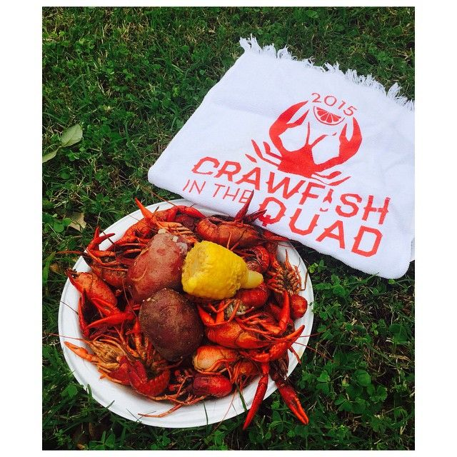 Crawfish boil party coming up? Custom printed towels are great souvenirs!  #weprinttoo #crawfish #orleansembroidery