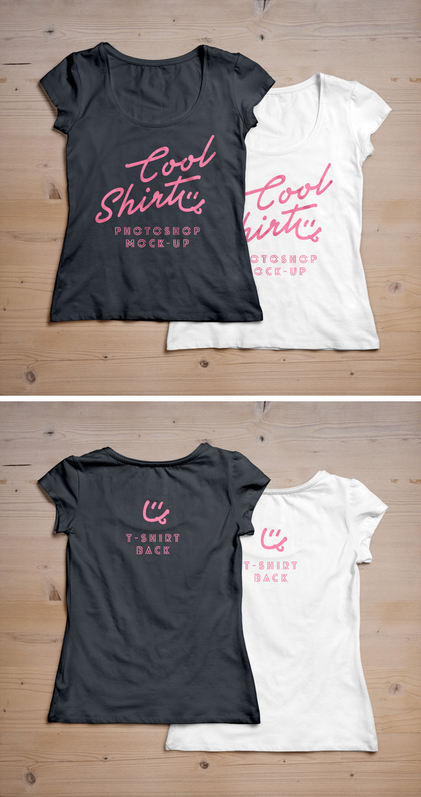 Download Woman T Shirt Mockup Psd 2 Graphicburger T Shirts For Women Shirt Mockup Shirt Template