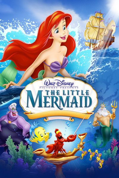Image result for the little mermaid movie poster