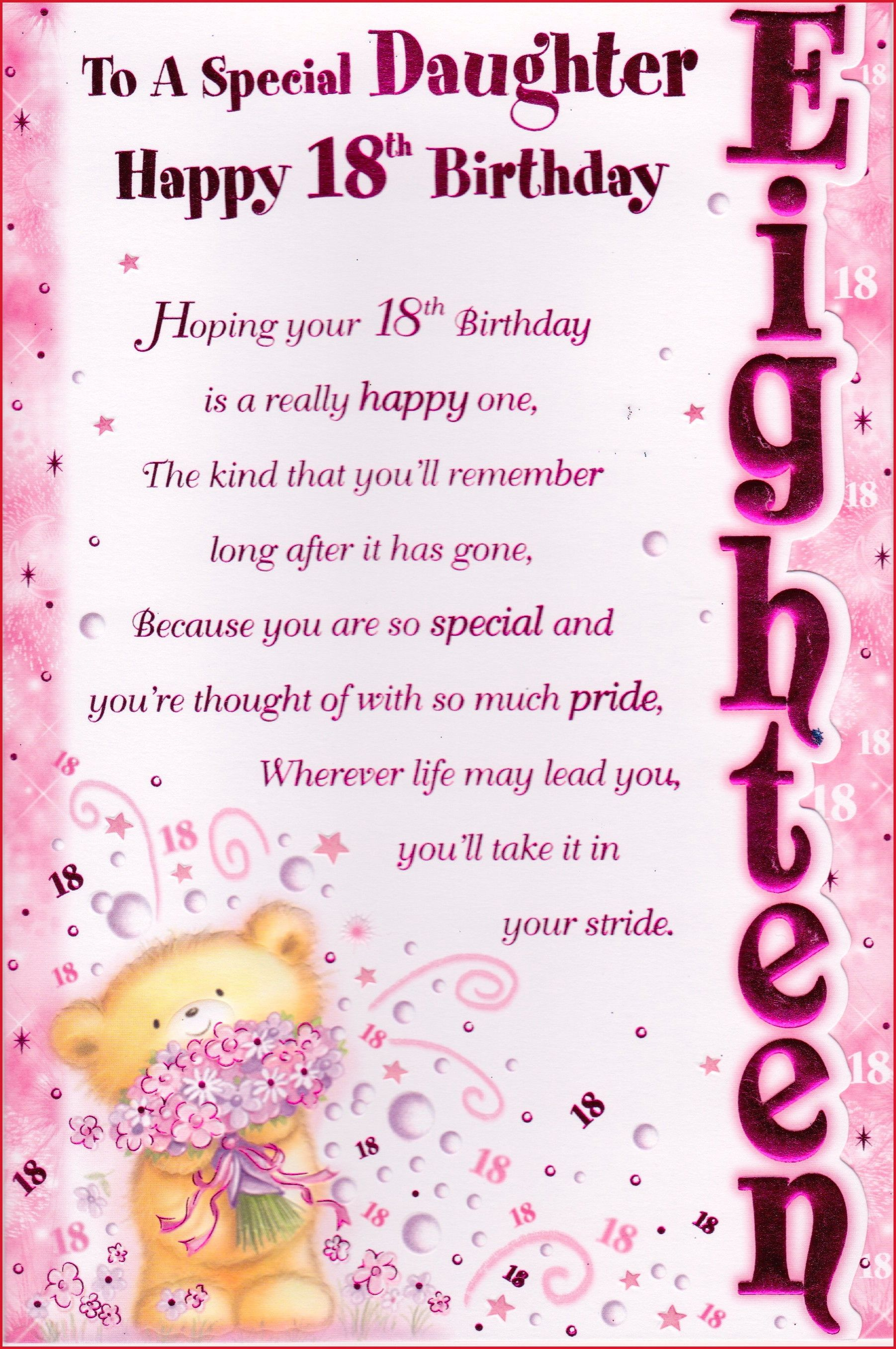 Image Result For Granddaughter Birthday Wishes Birthday Quotes Happy 18th Birthday Quotes Birthday Poems For Daughter