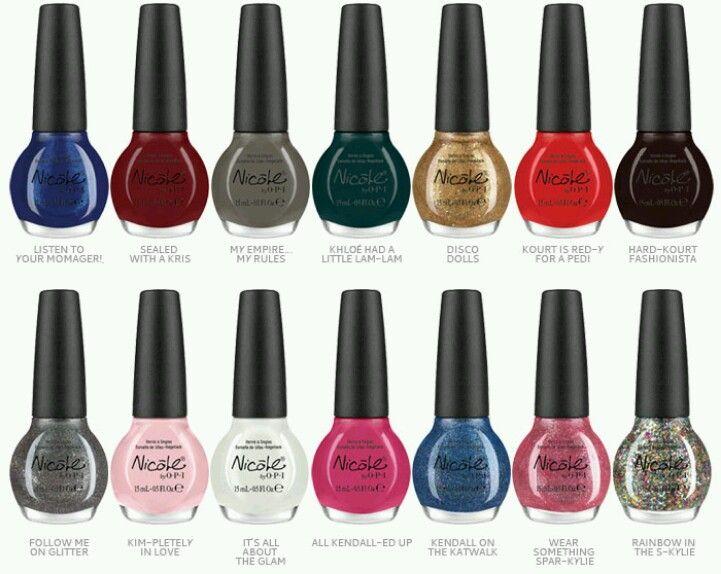 Absolutley Love the Kardashian Kollection colors | Nails Nails ...