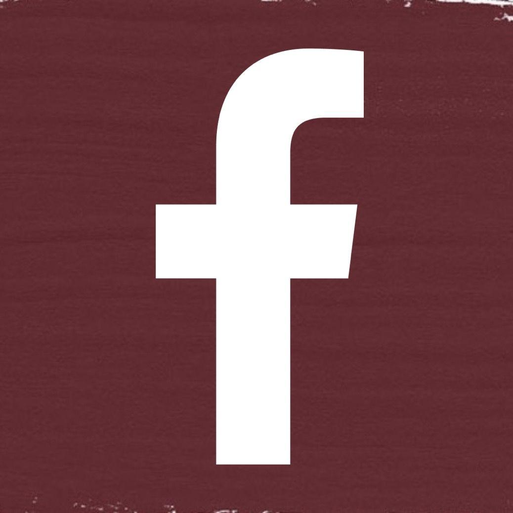 Burgundy Facebook Icon Logo Logo Facebook Facebook Icons App Icon