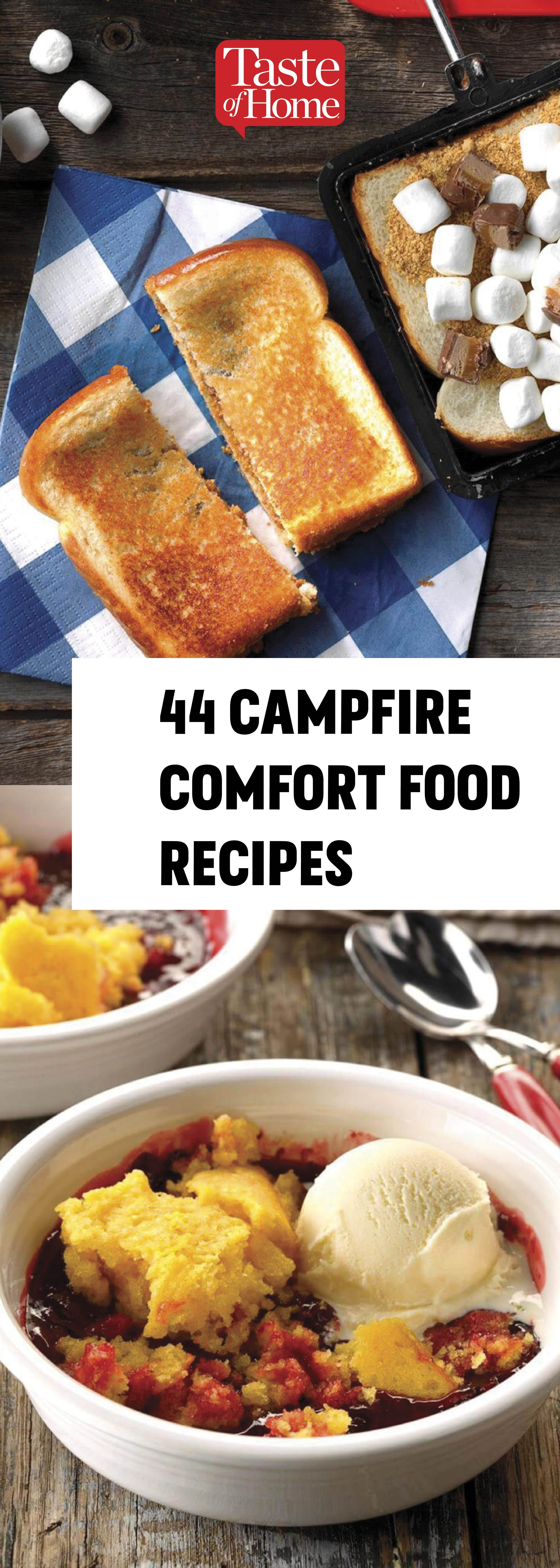 44 Campfire Comfort Food Recipes To Make On Your Next