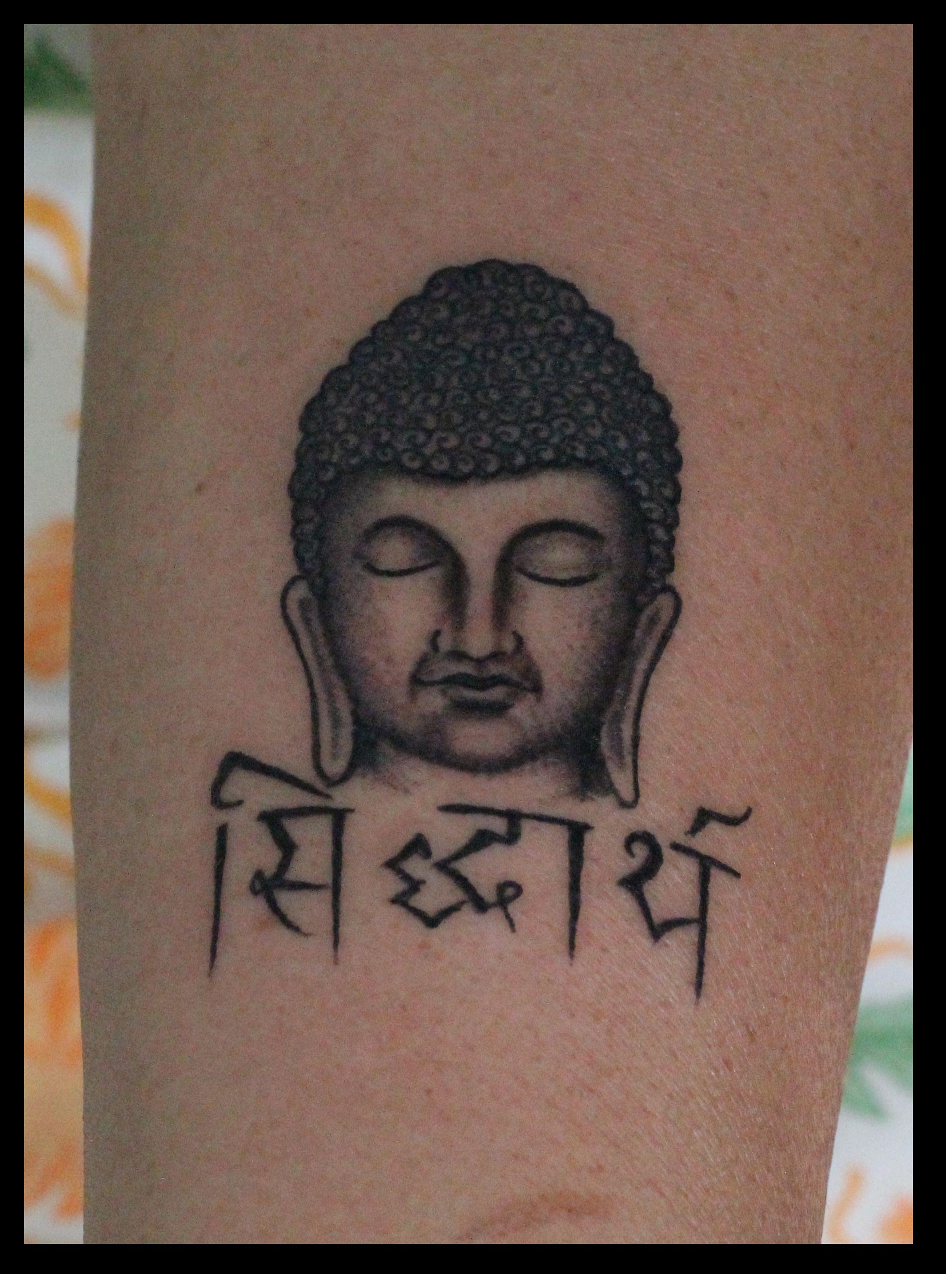 Custom Buddha Tattoo | Tattoos | Pinterest | Buddha tattoos and Tattoo for Gautam Buddha Face Tattoo  570bof