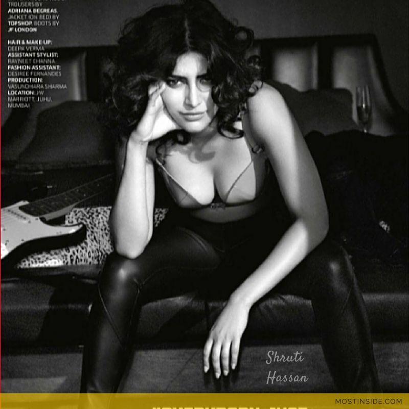 ShrutiHassan Hot #Cleavage | Entertainment | Pinterest | GQ ...