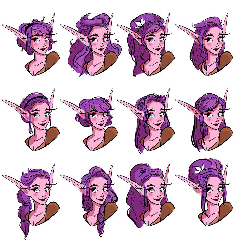 Miranda Yeo On Twitter Elf Drawings Character Design Drawings