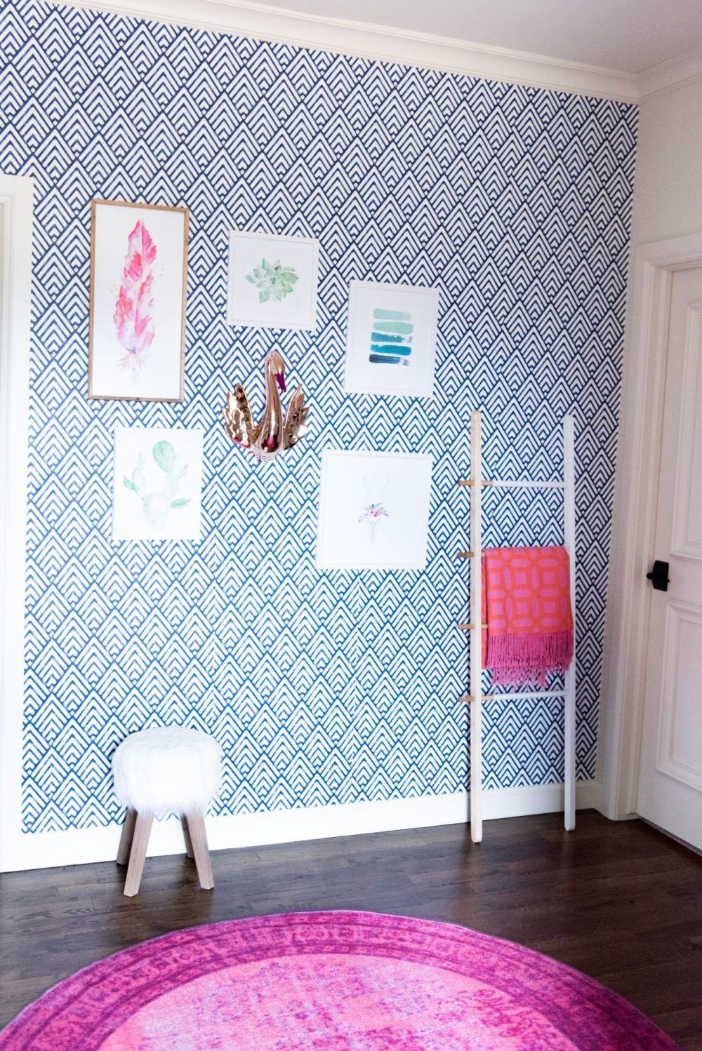 How To Hang Peel And Stick Wallpaper Curls And Cashmere Peel And Stick Wallpaper Trending Decor Stick On Wallpaper
