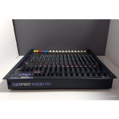 Spiksplinternieuw Soundcraft-Spirit-Folio-SX-20-Channel-Analog-Mixer-w-Power-Supply NW-13