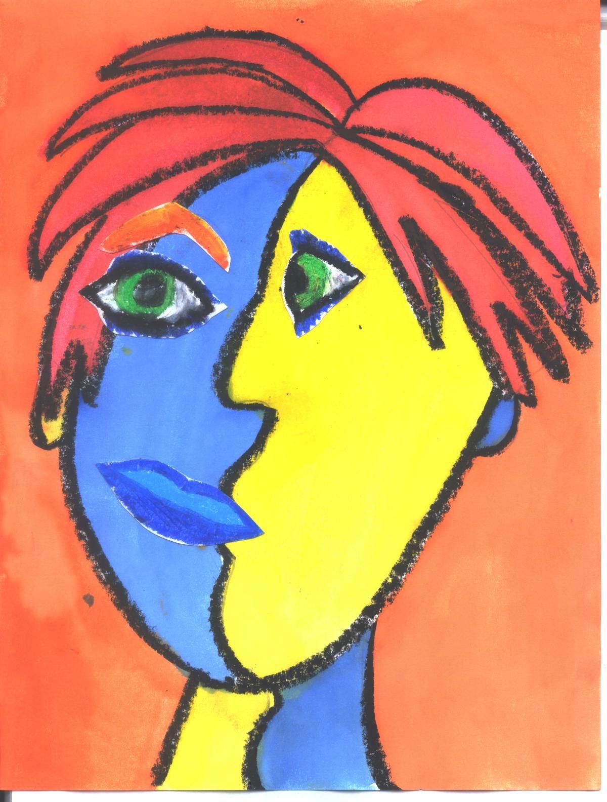 Cubist Face Painting
