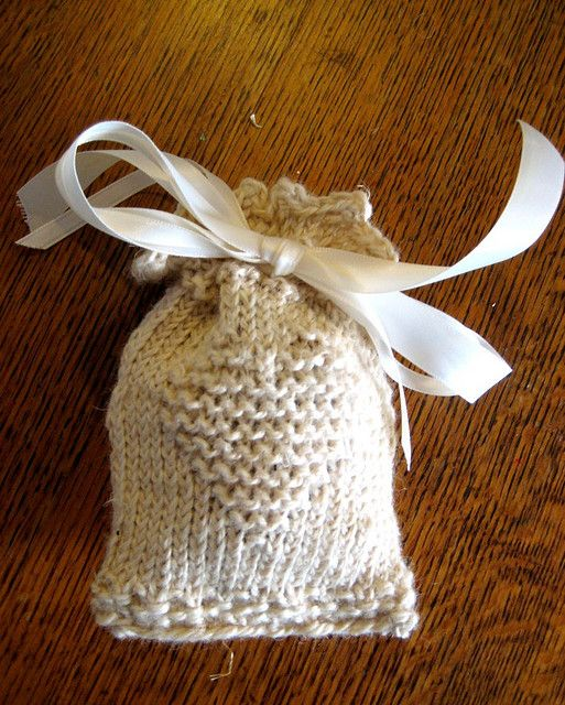 Heart Sachet Free Knitting Pattern By Pat Higgins