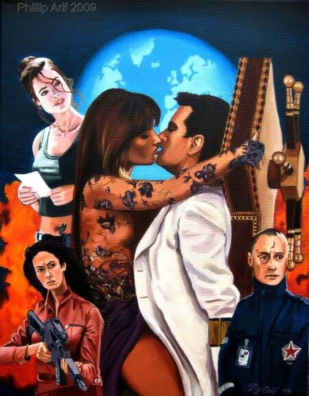 James Bond Art The World Is Not Enough By Philip Prendergast