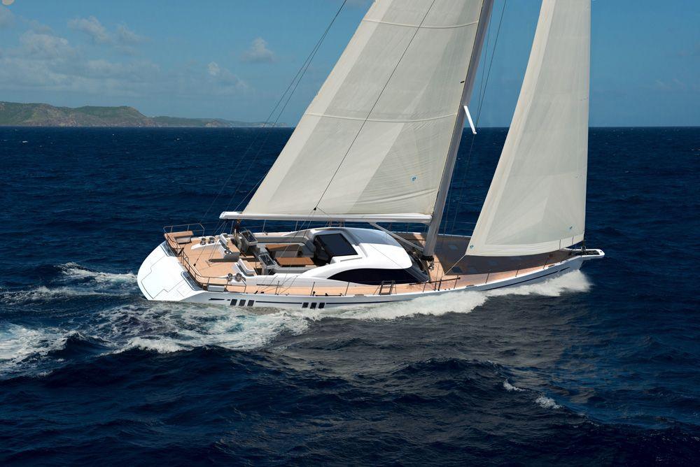 Fleet 825 gallery sailing yacht yacht luxury