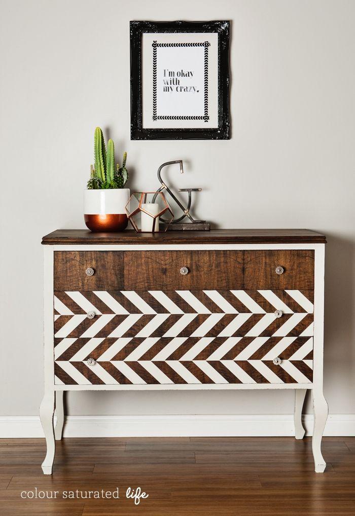 ▷ 1001 + idées comment peindre un meuble ancien - Moderniser Un Meuble Ancien