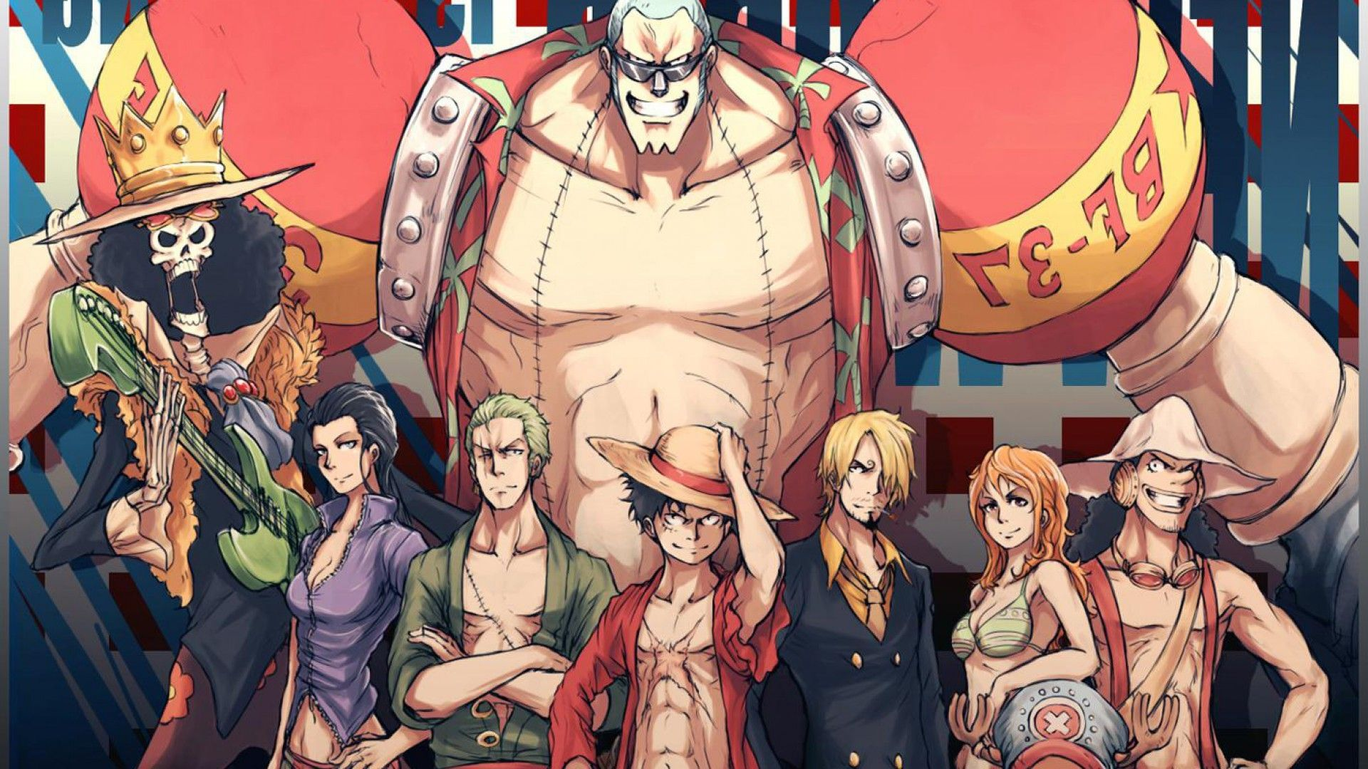 80 One Piece Wallpapers On Wallpaperplay Wallpaper Anime Gambar One Piece