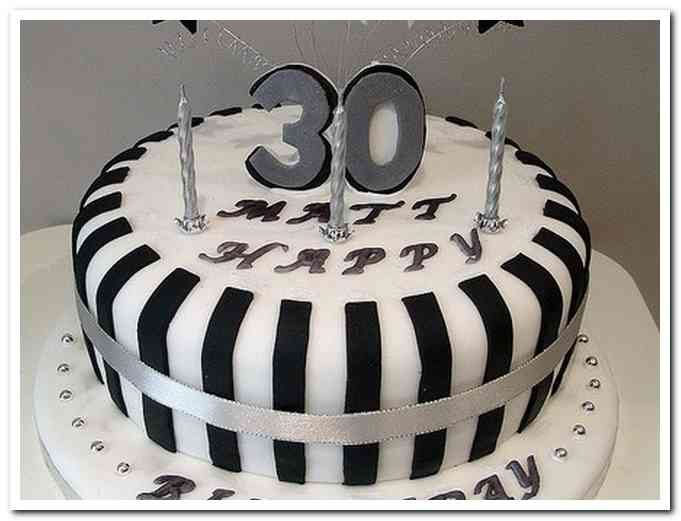 30th Male Birthday Cake Ideas Party Planning Pinterest Male