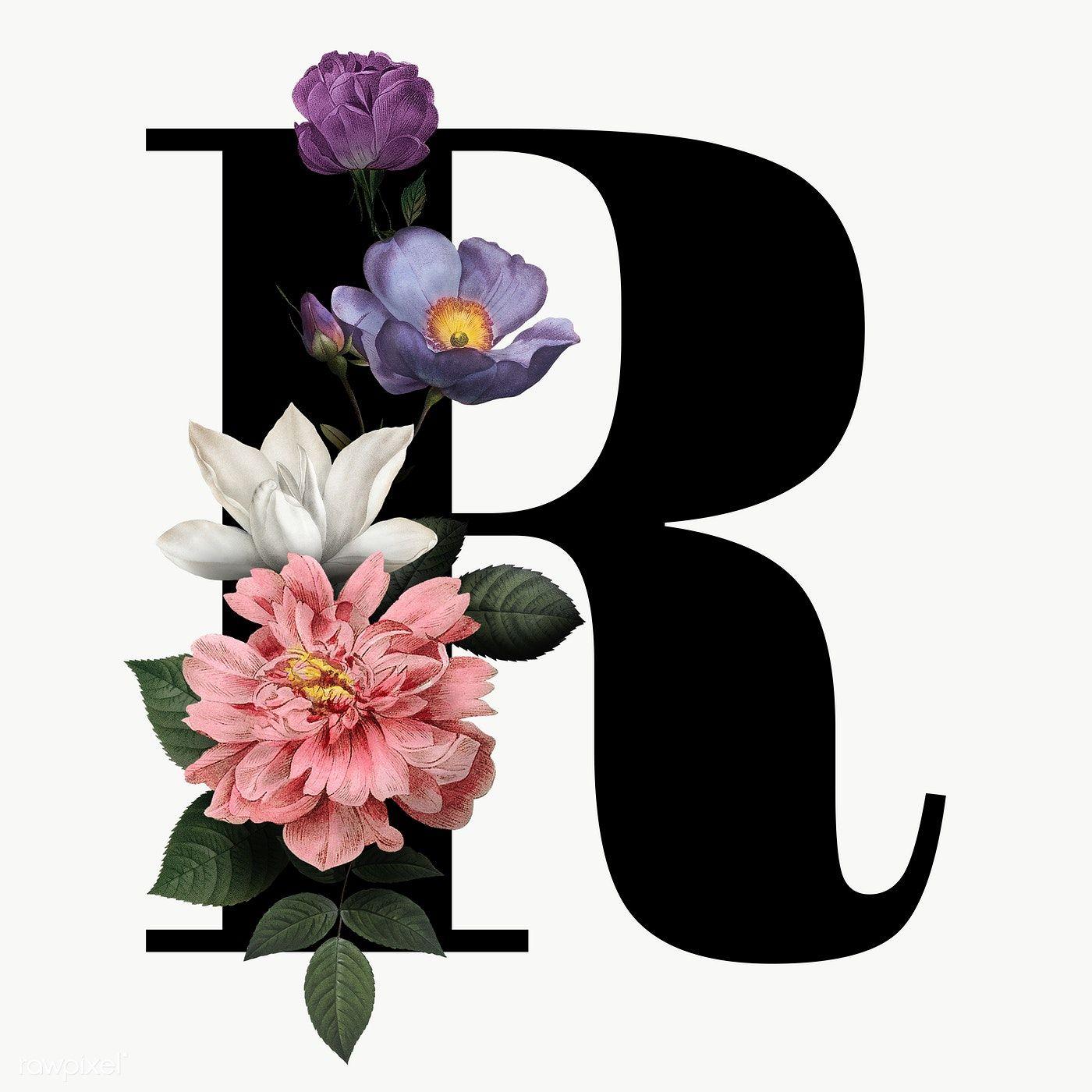 Classic And Elegant Floral Alphabet Font Letter R Transparent Png Free Image By Rawpixel Com Manota Fonts Alphabet Lettering Alphabet Fonts Lettering Fonts