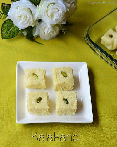 Easy Kalakand Recipe Diwali Sweets Raks Kitchen Recipe Kalakand Recipe Diwali Sweets Recipe Farali Recipes