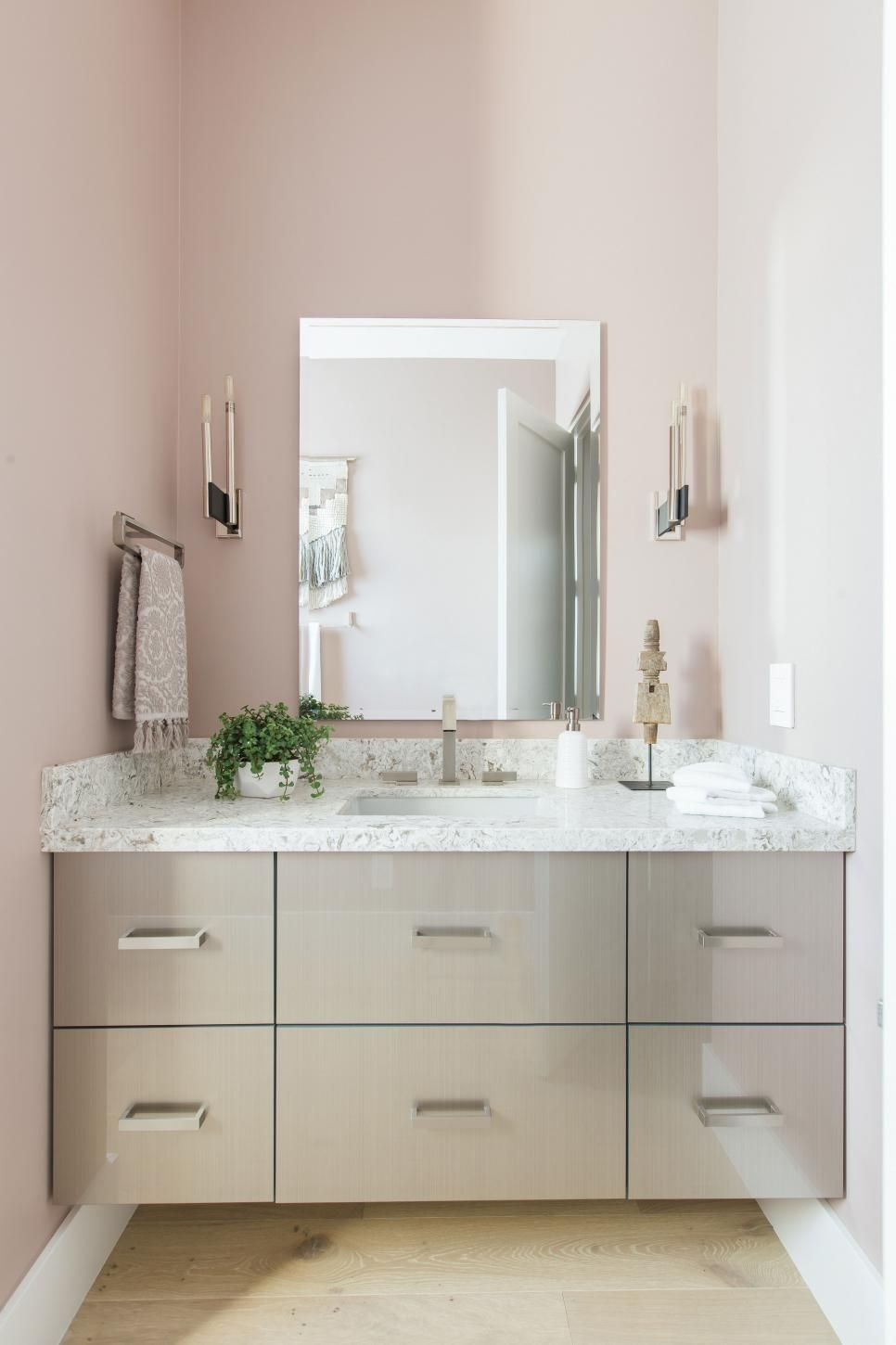 Pictures of the HGTV Smart Home 2017 Powder Room | Southwest style ...