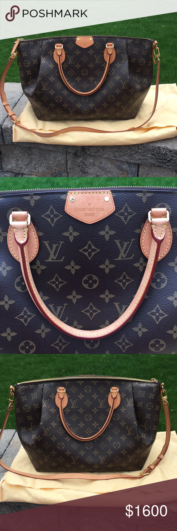 Spotted while shopping on Poshmark  Authentic Louis Vuitton Turenne GM  Monogram Bag!  poshmark  fashion  shopping  style  Louis Vuitton  Handbags dab3d1d0fa