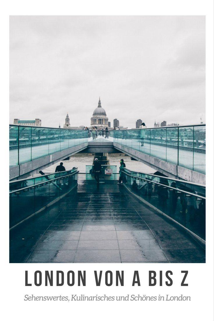 Sehenswürdigkeiten in London von A bis Z