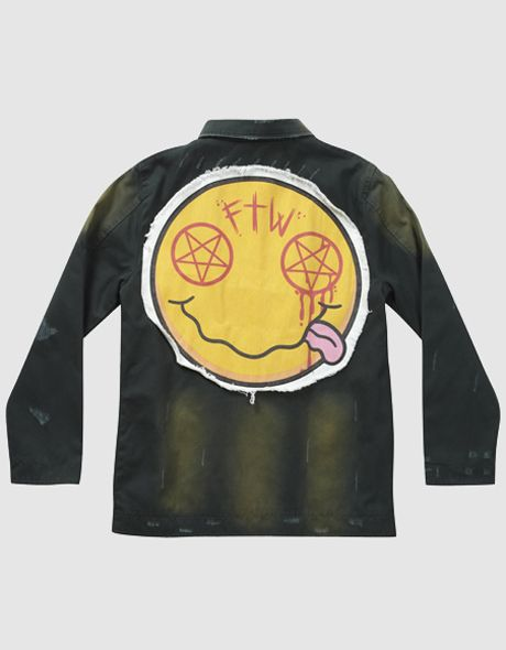 Seriously, FTW and wear the Nevermind Jacket, form Drop ...Drop Dead Clothing Ghost