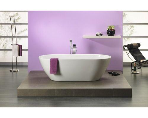 Freistehende Badewanne Timor 1900x900 mm weiss Bad Borels - freistehende badewanne