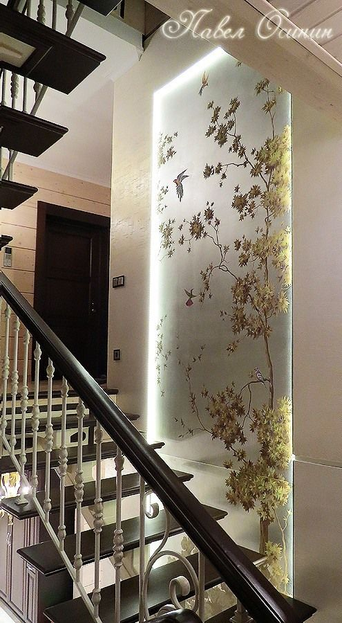 Pin By Hind Ali On Living Room Door Glass Design Staircase Wall | Designs For Staircase Wall | Stairwell | Stylish | Luxury | Painting | Stone