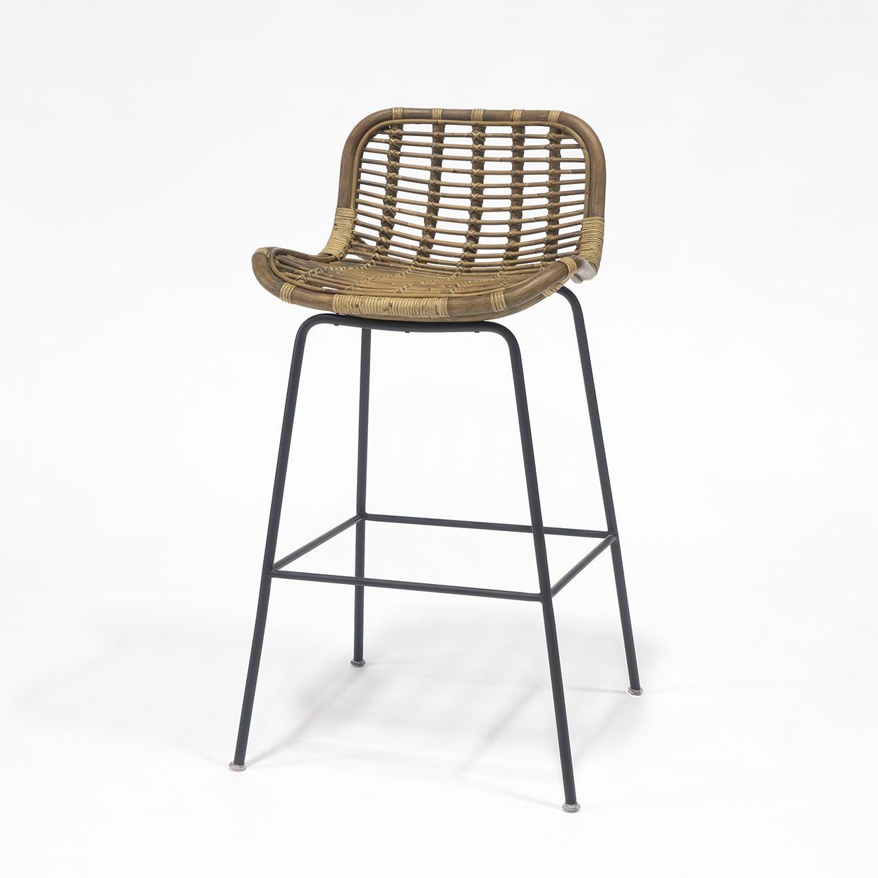 Beau Our Sydney Rattan Counter Stool From Palecek Features Modern Lines And A  Woven Natural Wicker Seat And Back. Adds A Touch Of Coastal Style To Any  Decor.