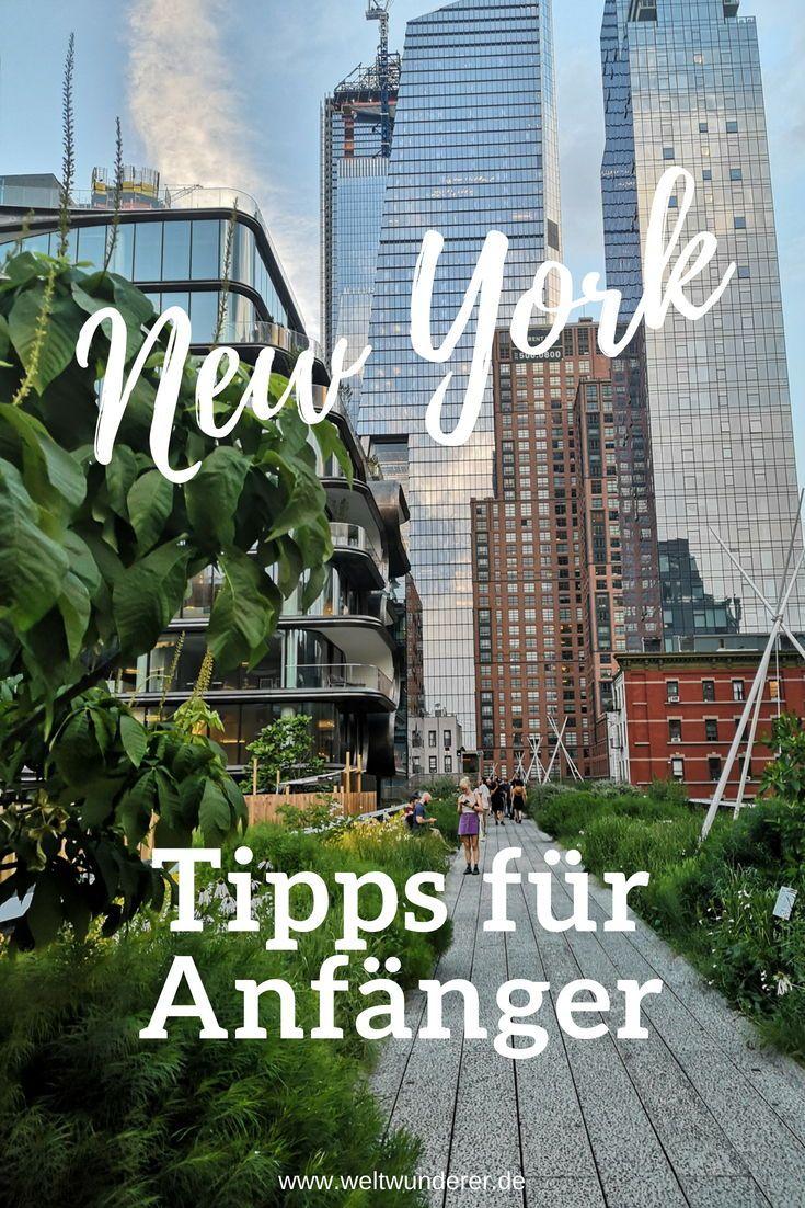 Nueva York para principiantes: los consejos más importantes Wunderer mundo