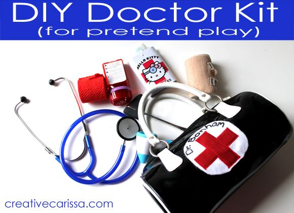 Make A DIY Pretend Doctor Kit How To Do It For The Same Price As Cheapy Plastic One But With Real Working Tools From Creative Green Living