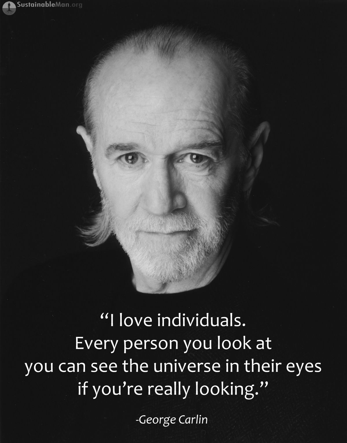 George Carlin George Carlin Individuality Quotes Cool Words