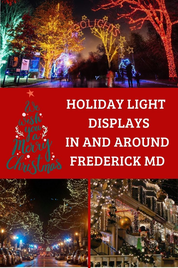 Holiday Light Displays in and Around Frederick MD