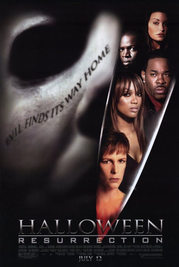 Halloween 2020 Hd Sockshare Halloween: Resurrection 11x17 Movie Poster (2002) in 2020