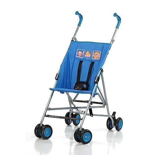 Découvrez «Toys R Us - Babies R Us - Poussette canne Run Bleu» sur