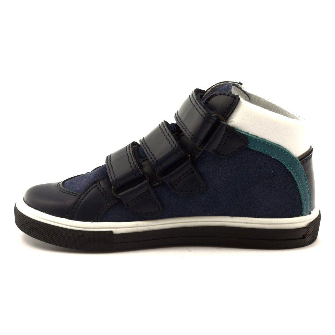 Trzewiki Buty Dzieciece Bartek 84279 Granatowe Wielokolorowe Wielokolorowe Niebieskie Biale Fisherman Sandal Shoes Sneakers