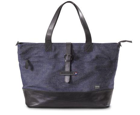 """Denim Ladyshopper voor MacBook 15"""" - Decoded Bags"""