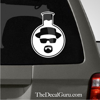 Breaking Bad Walters Beaker Car Decal Vinyl Pinterest Car Decal - Cars decal maker online