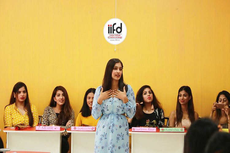 Fashion Bloggers Meet At Iifd Mohali Fashion Designing Institute Fashion Designing Course Fashion Institute