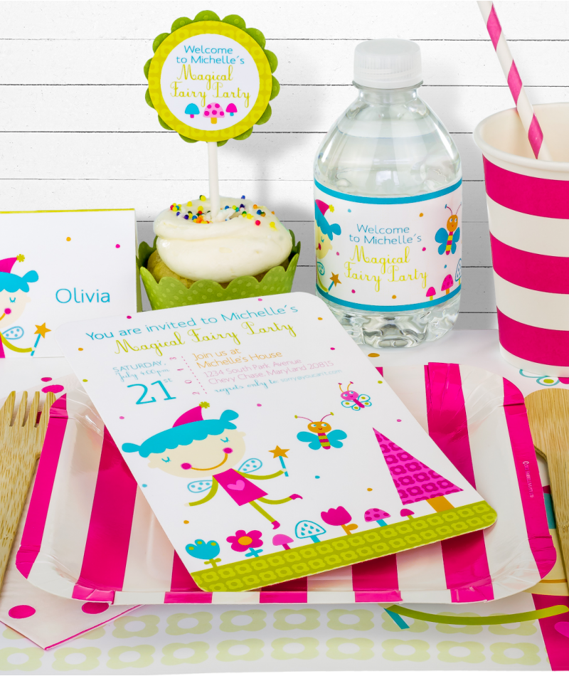 Pink Fairy Birthday Party in a Box(($))