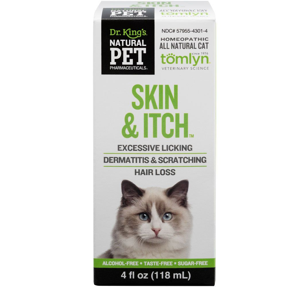 Natural Pet Pharmaceuticals Skin Itch Irritation For Cats 4 Oz Itching Skin Natural Pet Cat Training Scratching