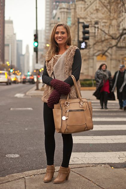 a323f586f44 College Street Style in Chicago Teen Vogue