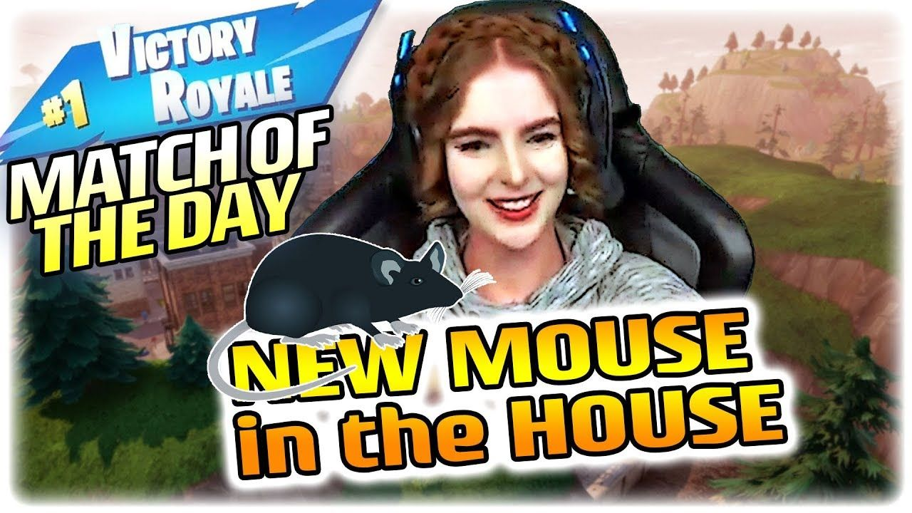 New Mouse In The House Stream Highlights Loeya Playing Fortnite Batt Fortnite House Mouse Streaming
