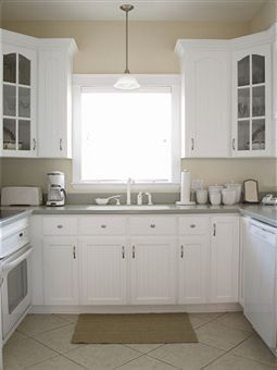 Pin By Samantha Palmer On House Ideas In 2020 White Cabinets Beige Kitchen White Appliances
