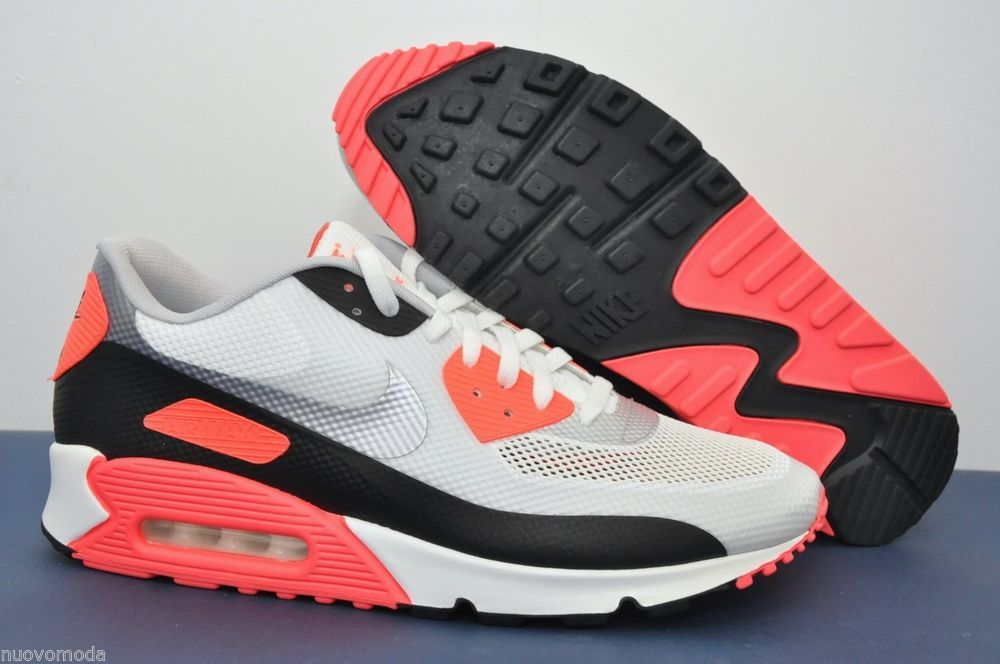 Details about Nike Air Max 90 Hyperfuse Infrared 548747 106 Size 11