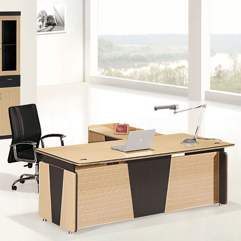 Etonnant Cheap Office Furniture L Shape Modern Design European Style Office Desk  With Cabinet More