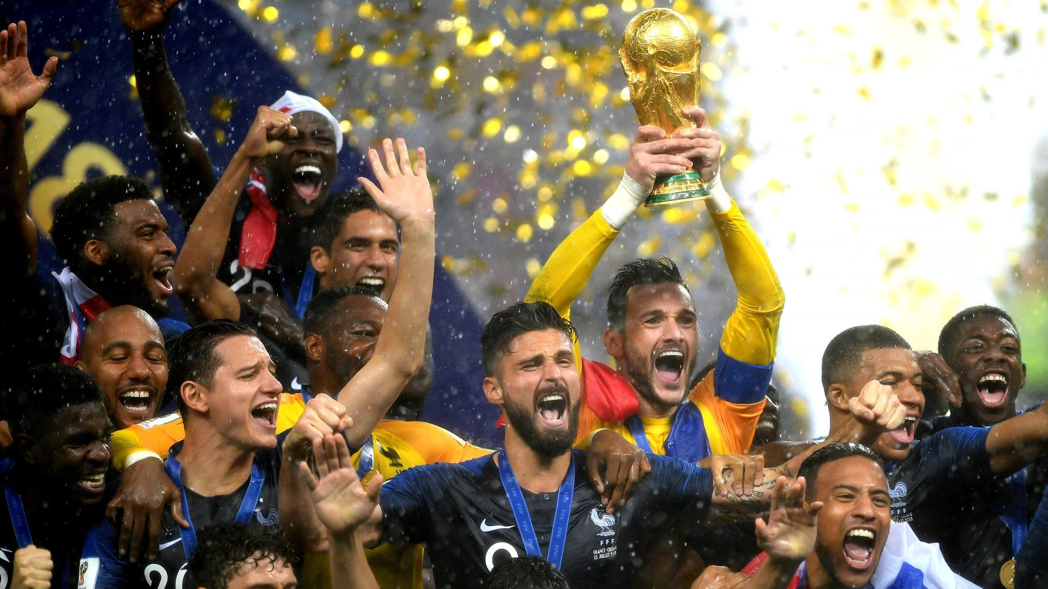World Cup 2018 France Beat Croatia 4 2 In World Cup Final World Cup Final World Cup World Cup Trophy