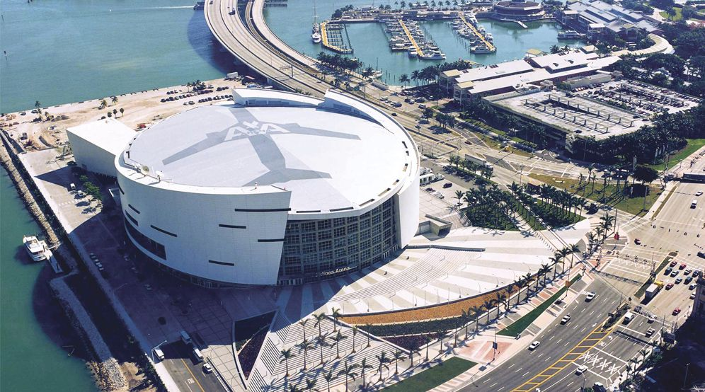 January Events at Miami's American Airlines Arena