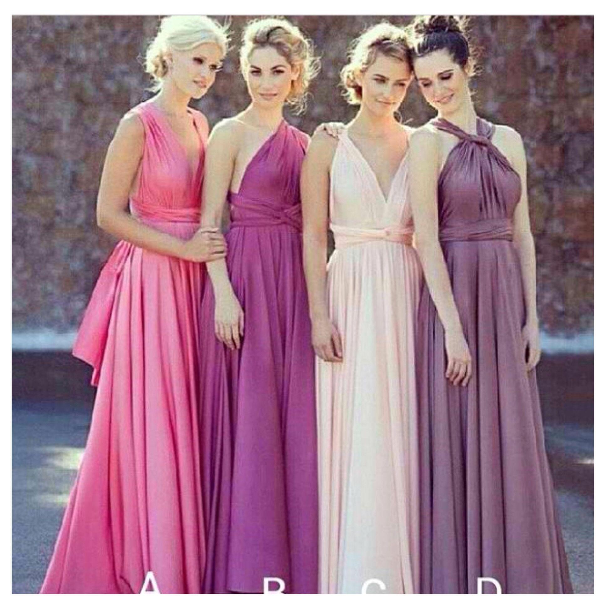 Wedding Entourage Gown Inspiration 2