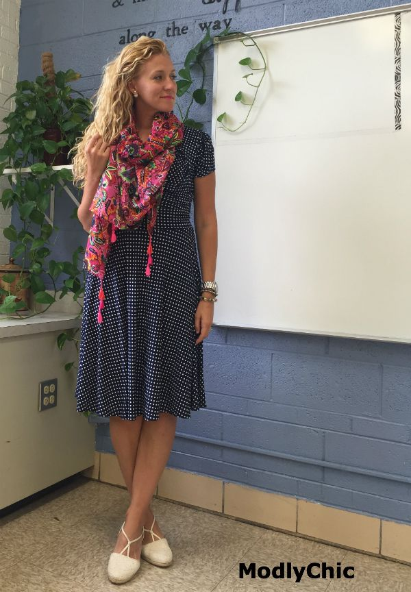 First Day of School Outfit - Teacher Edition - ModlyChic