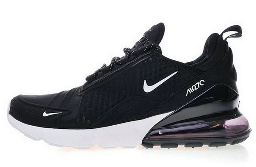 Nike Air Max 270 Deep Black White Ah8060 010 X Sneaker Sneaker ... 5d4b40726